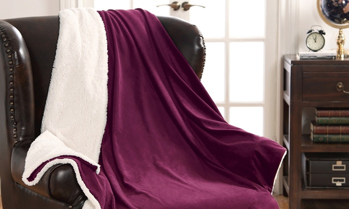 Micro Mink Sherpa-Backed Throws: Micro Mink Sherpa-Backed Throws. Free Shipping and Returns.