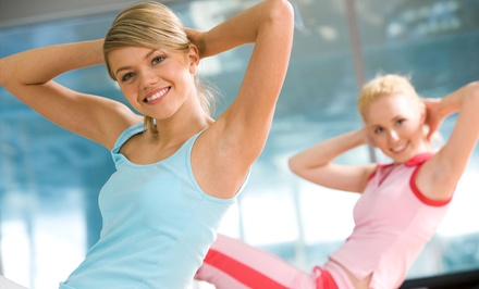 5 or 10 Women's Boot-Camp or Kickboxing Classes at Femme Force Fitness (Up to 76% Off)