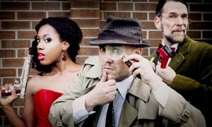 The Murder Mystery Company: Dinner Show for One or Two from The Murder Mystery Company (51% Off)