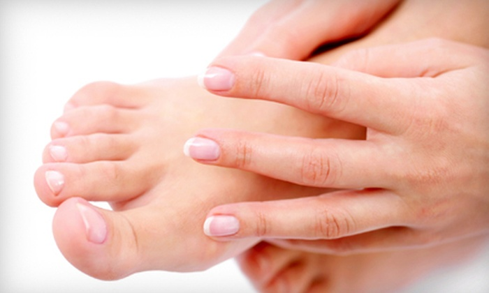 Kim Solip's Salon & Day Spa - Western Branch North: $35 for a Spa Manicure and Pedicure at Kim Solip's Salon & Day Spa in Chesapeake ($70 Value)