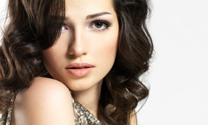 Vanity Salon: Womens Haircut with or without Color or Highlights at Vanity Salon (Up to 59% Off)