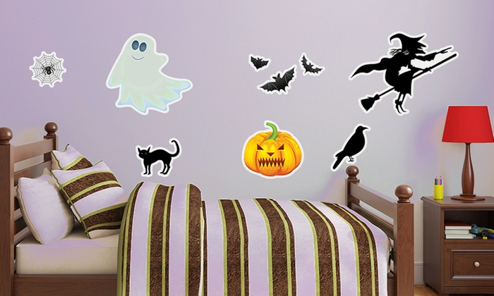 Removable Halloween Wall Decals: Removable Halloween Wall Decals. Free Shipping and Returns.