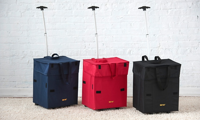 Bigger Smart Cart: $32.99 for a Bigger Smart Cart ($50 List Price). Three Colors Available. Free Shipping and Returns.