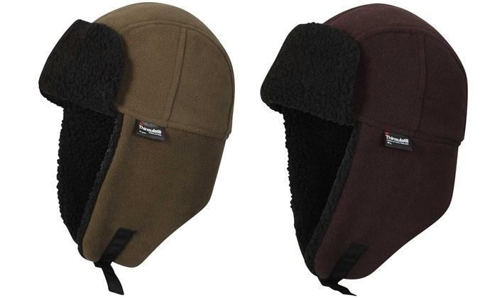 b0b5ec0735b82d Waterproof Fleece Trapper Hat   Groupon