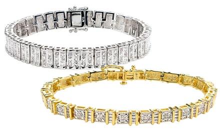 1/4 or 1 CTTW Diamond Bracelets