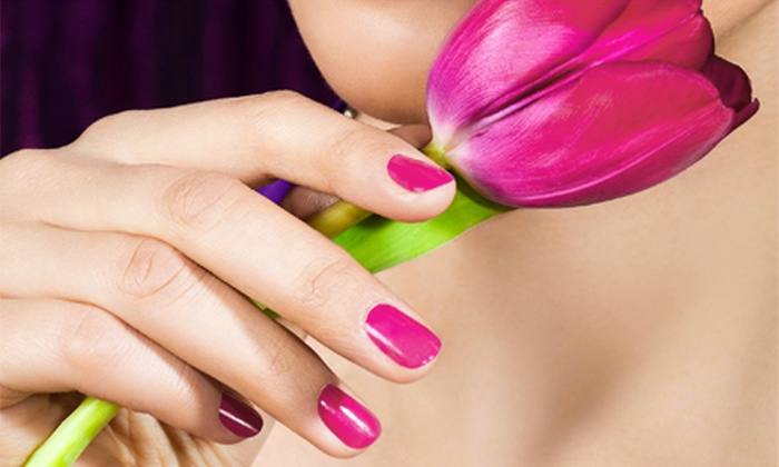 AJ's Spa Millennium - Pepper Pike: One Express Mani-Pedi, Two Deluxe Manicures, or One Deluxe Mani-Pedi at AJ's Spa Millennium (Up to 52% Off)