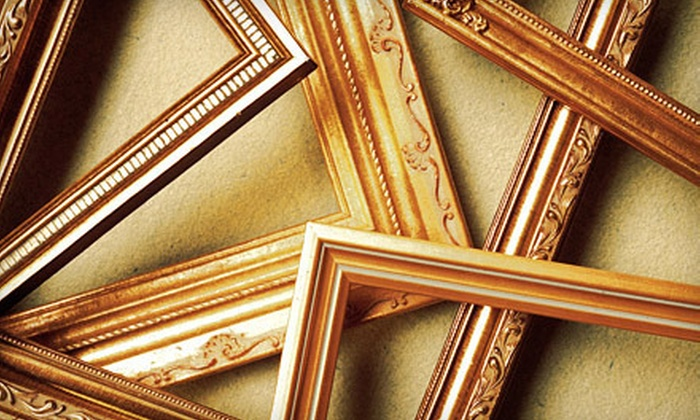 Bob's Frame Shop - Upper West Side: Custom Framing and Ready-Made Frames at Bob's Frame Shop (Up to 63% Off). Two Options Available.