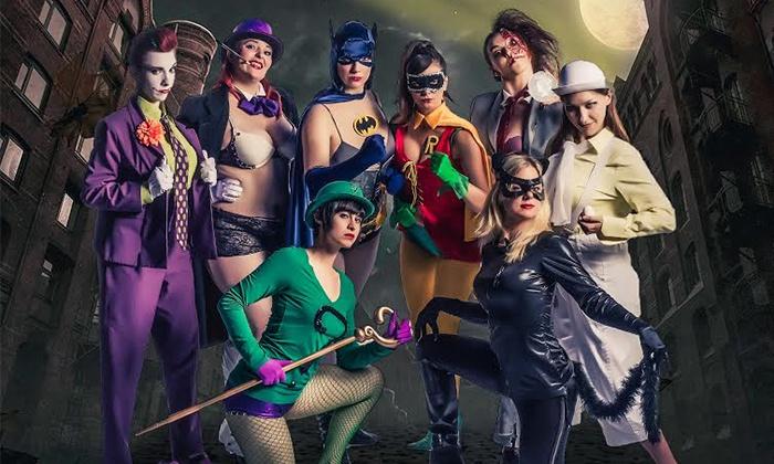 "Gorilla Tango Burlesque Shows - Gorilla Tango Theatre: ""Star Trek,"" ""Star Wars,"" ""Batman,"" or ""Game of Thrones"" Burlesque Show at Gorilla Tango Theatre (Up to 39% Off)"