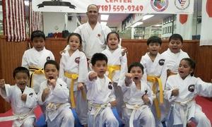 Kanku Dai Zanshin Dojo: One or Three Months of Unlimited Karate Classes with a Karate Uniform at Kanku Dai Zanshin Dojo (Up to 64% Off)