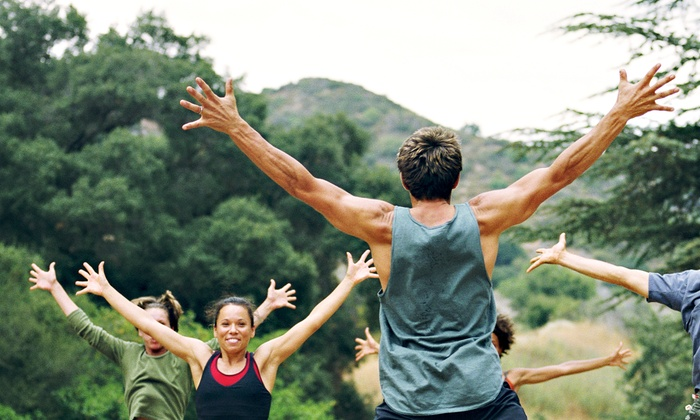 HollyWould Fitness - Overton Park: One Month of Sunrise Fitness Boot Camp for One or Two People from HollyWould Fitness(Up to 54% Off)