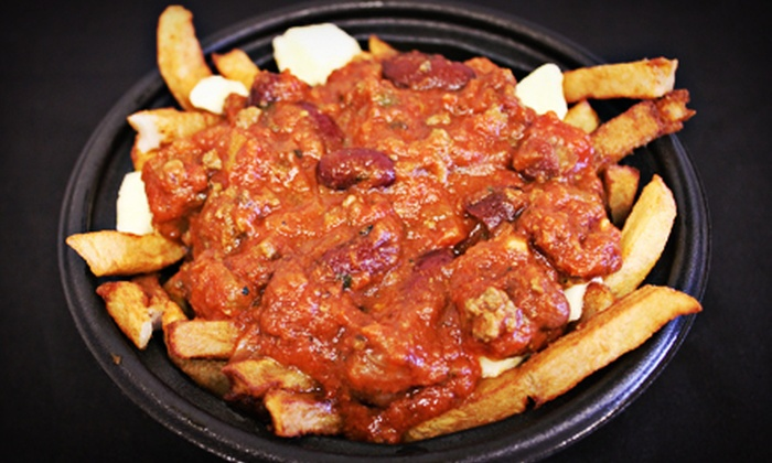 Sam Sub - Guelph: $12.99 for Three Medium Orders of Specialty Poutine at Sam Sub ($26.97 Value)
