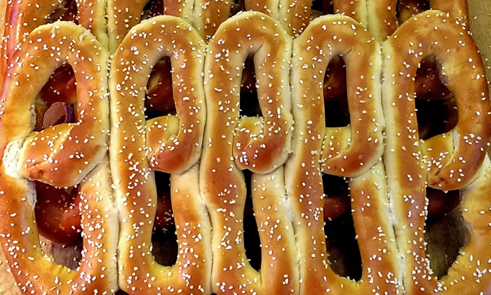 Philly Pretzel Factory - Philadelphia: Three, Five, or Nine Groupons, Each Good for 25 Pretzels at Philly Pretzel Factory (Up to 44% Off)
