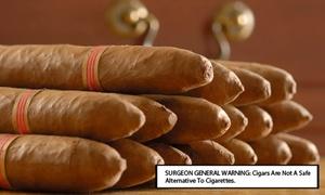 Hoboken Premium Cigars: $20 for $40 Worth of Hand-Rolled Cigars at Hoboken Premium Cigars