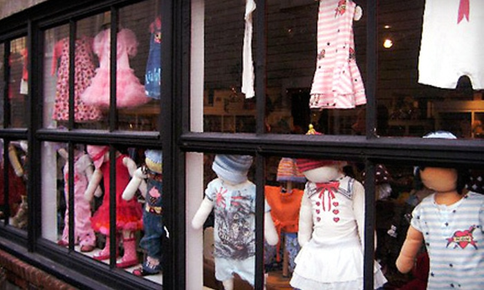 Boston Street Baby Store - Pike Place Market,Belltown,Pioneer Square: $15 for $30 Worth of Children's Clothes, Toys, and Gifts at Boston Street Baby Store