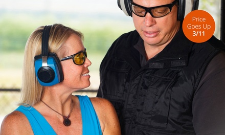 Introductory Firearm-Safety Class for One or Two at Top Shot Class (55% Off)