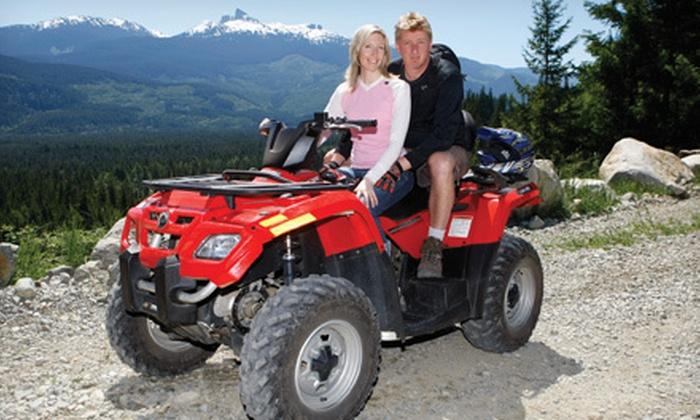 Whistler ATV - Whistler: $108 for a Two-Hour Tandem ATV Bushwacker Tour for Two from Whistler ATV ($217.28 Value)
