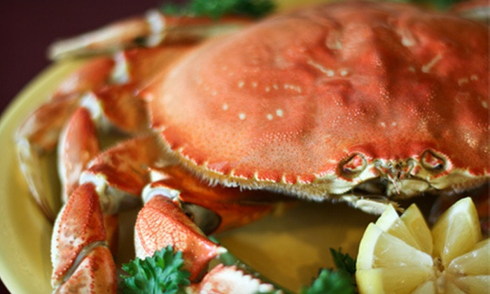 Chinn's 34th Street Fishery - Lisle: Seafood and Drinks for Dinner or Lunch at Chinn's 34th Street Fishery (Half Off). Three Options Available.