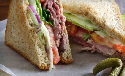 $32 Worth of Sandwiches and Salads for Groups of 4 or More - The Lunch Box in Stinson Beach