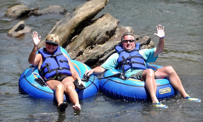 Saluda River Rafting - Easley East: Inner-Tube or Paddleboat Rental for Two at Saluda River Rafting (Half Off)