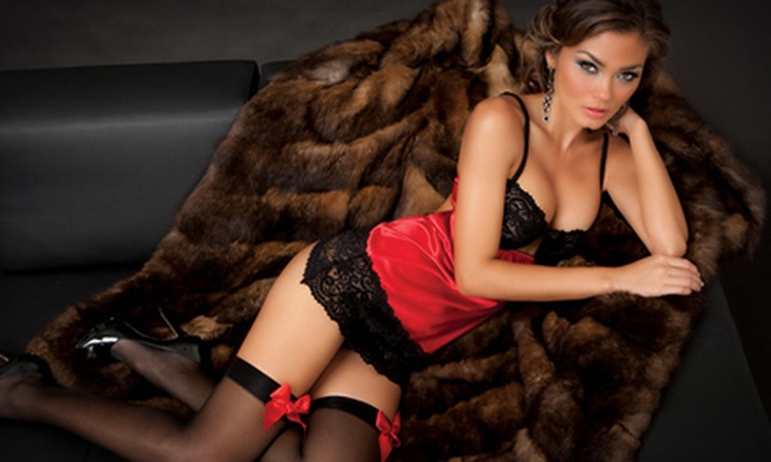 French Lingerie Outlet: Lingerie from French Lingerie Outlet (Up to 60% Off). Two Options Available.