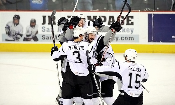 San Antonio Rampage - AT&T Center: San Antonio Rampage  Hockey Game at AT&T Center on March 7 or 13 (Up to 61% Off)