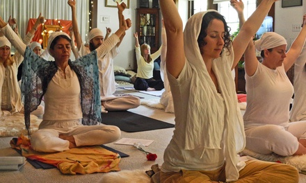 Six Classes or One Month of Unlimited Yoga at 3HO Kundalini Yoga Center (50% Off)