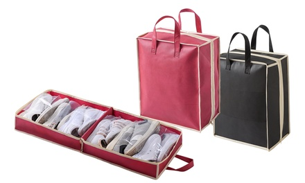1 à 4 range-chaussures rigide de voyage