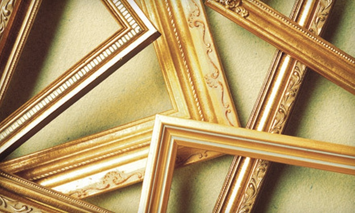 Middlesex Framing - Woods Corner: Custom Framing at Middlesex Framing (Up to 51% Off). Two Options Available.