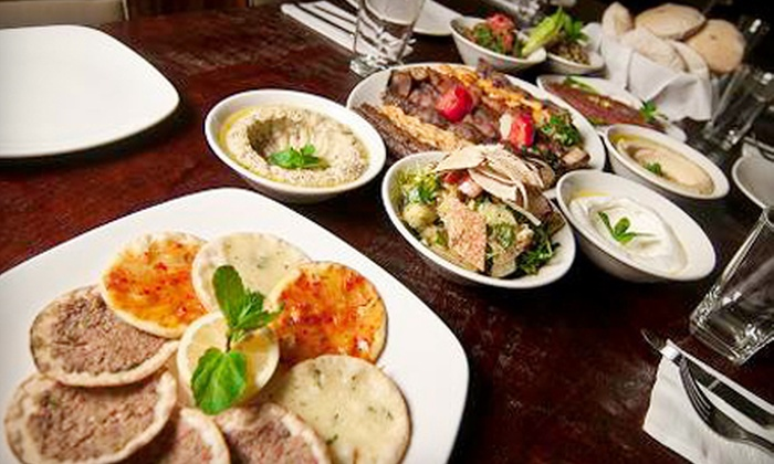 Kababji Grill - Dupont Circle: $20 for $40 Worth of Lebanese Fare and Drinks at Kababji Grill