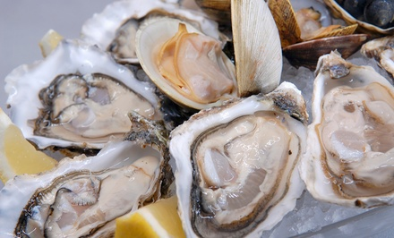 Seafood and Steak at Murphys Oyster Bar (Up to Half Off). Two Options Available.