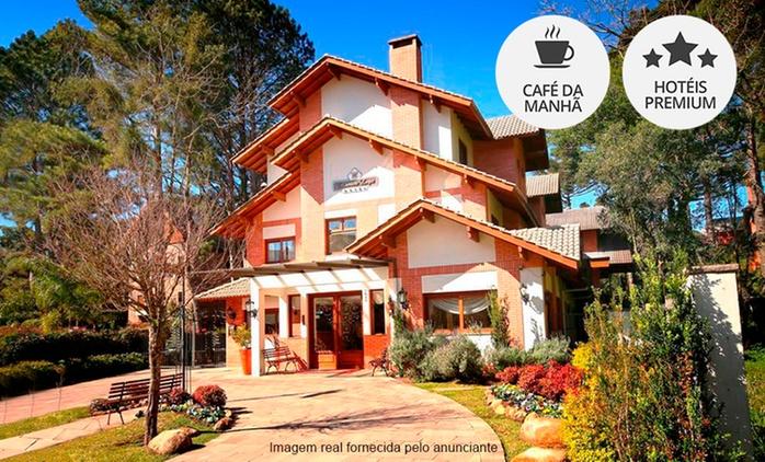 Gramado/RS: até 7 noites para 2 + café da manhã (opções em feriados) no Encantos Portal Hotel