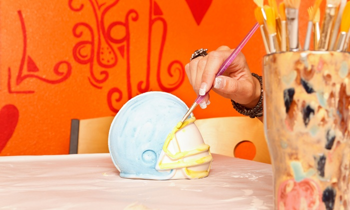 PaintMe Pottery Studio - North Austin: Make-and-Paint-Your-Own-Pottery Session for 1 or 2, or a Party for 10 at PaintMe Pottery Studio (Up to 53% Off)