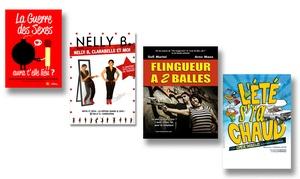 FLIBUST PROD: 2 places de théâtres le mardi, mercredi, jeudi, vendredi et dimanche soir à 20 € avec Le Flibustier