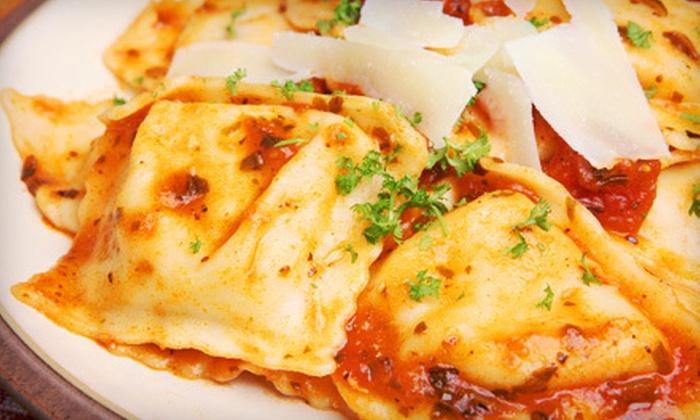 La Bella Via - Phillipsburg: $12 for $25 Worth of Italian Cuisine at La Bella Via
