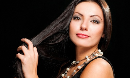 Haircut, Style, and Shampoo with Option for Keratin Treatment from Angela at Salon Ron Dev U (Up to 51% Off)