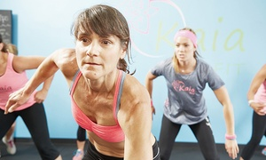 Kaia F.I.T. OC: 10 Drop-In Classes or One Month of Unlimited Gym Usage at Kaia F.I.T. OC (Up to 92% Off)