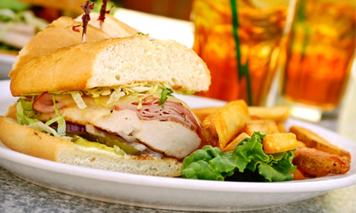 Celebrities Sports Grill - Arrowhead: Two-Course Steak Dinner for Two, or $10 for $20 Worth of Food and Drink at Celebrities Sports Grill (Up to 53% Off)