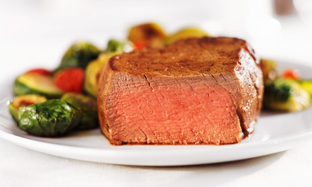 $22 for $40 Worth of Supper-Club Dinner Fare at Palm Court Arlington Heights