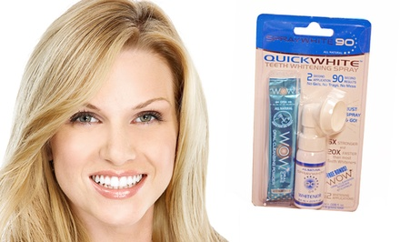 WOW Teeth Whitening Products. Multiple Options Available from $4.99-$7.99.