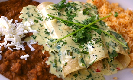 Mexican Cuisine and Drinks at Casa Jimenez (Up to Half Off). Two Options Available.