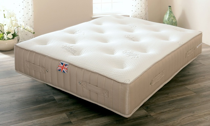 Cashmere and Wool Luxury Pocket Sprung Mattress