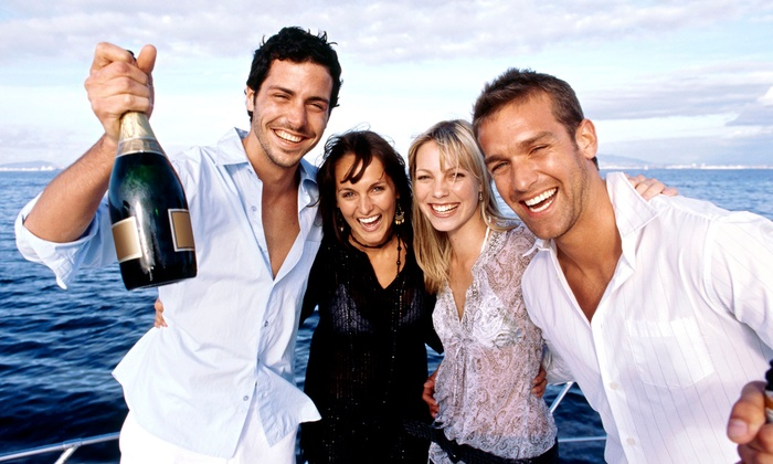 Yacht Party Chicago - Multiple Locations: Saturday Night or Memorial Day Booze Cruise on Lake Michigan for One from Yacht Party Chicago (42% Off)