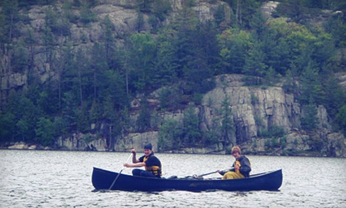 Paddles in Action - Glen Cairn: Four-Day Youth Canoe Camp or 15-Day Youth Wilderness Camp from Paddles in Action (Half Off). Five Options Available.