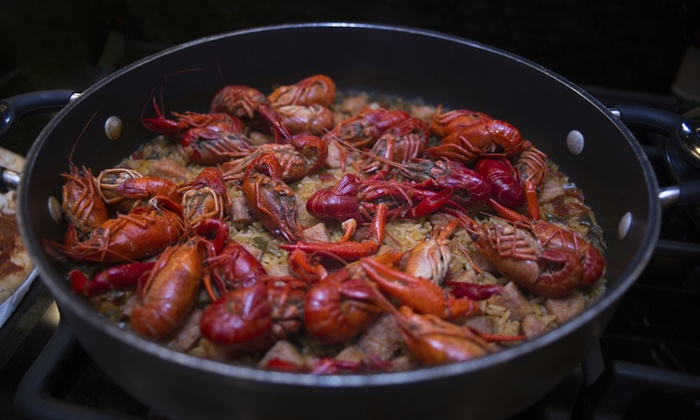 Purfekcatch - Greater Heights: $10 for $18 Worth of Cajun Food — PURFEKCATCH