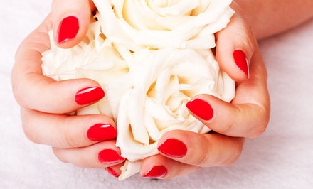 One or Two Gel Manicures, or One Solar Pink Nail Fill at La Vie Nails Salon (Up to 44% Off)