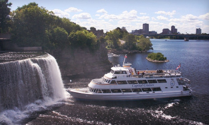 Capital Cruises Ottawa - Multiple Locations: Sightseeing Cruise, Evening Drinks Cruise, or Fireworks Cruise on the Ottawa River from Capital Cruises (Up to 51% Off)