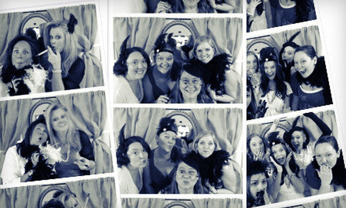 Click A Pic - Phoenix: Two- or Three-Hour Photo-Booth Rental from Click A Pic (Up to 53% Off)