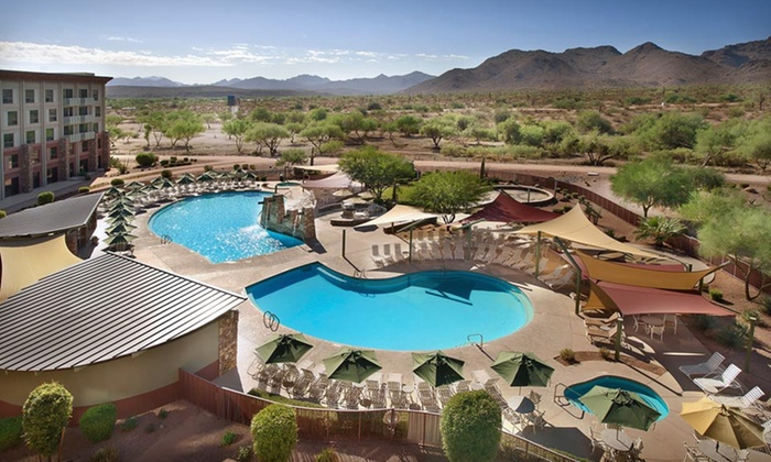 One-Night Stay with Optional Golf at Radisson Fort McDowell Resort in Scottsdale, AZ Deals for only $69 instead of $123