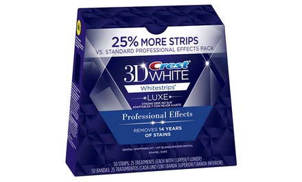 Crest 3D White Professional Effects 50-Count Whitestrips