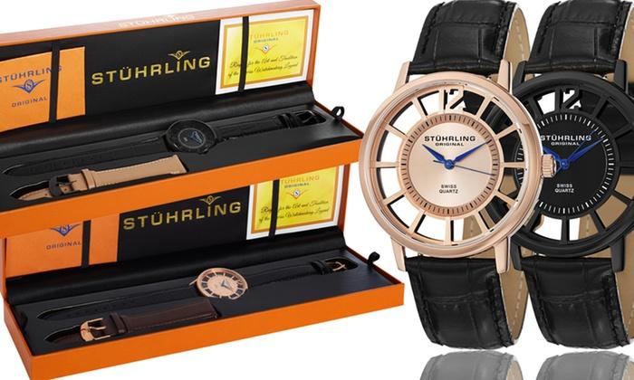 Stührling Original Men's Watches: Stührling Original Men's Skeleton Watches. Multiple Styles Available. Free Returns.
